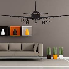 airplane bedroom decor 3d airplane different sizes wall sticker diy home bedroom decor