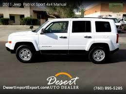 jeep patriot manual 2011 jeep patriot sport 4x4 manual desert auto dealer