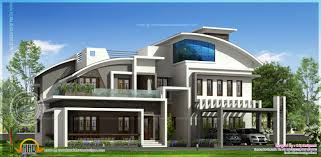 contemporary luxury house elevation in 4280 square feet kerala