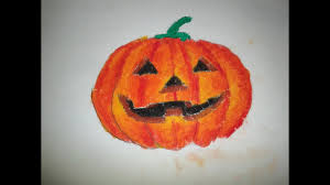 drawing tutorial how to draw a halloween picture for beginner