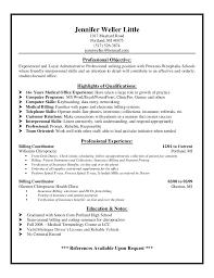 resume cover letter medical coding