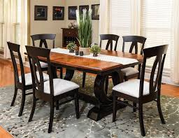 Amish Dining Room Chairs Amish Saratoga Trestle Table Trestle Tables Dining Room Sets