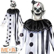 killer clown costume deluxe killer clown boys fancy dress circus horror