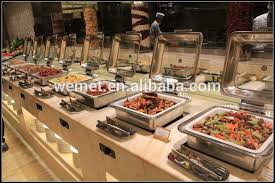how to set a buffet table with chafing dishes s l1000 shop buffet chafing dish 1 2 size chafer pan pack catering