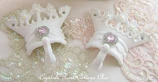 Shabby Chic Shower Curtain Hooks by Shabby Chic Bed Crown Canopy Set Crown Wall Decor Crown Hooks