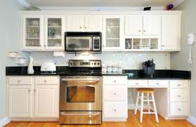 Glass Front Kitchen Cabinet Door White Glass Kitchen Cabinets Image Of Kitchen Cabinet Doors High
