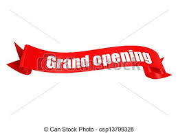 grand opening ribbon grand opening ribbon rendered artwork with white background clip