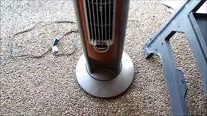 sunter tower fan costco tower fan squeaks when oscillating the fix youtube