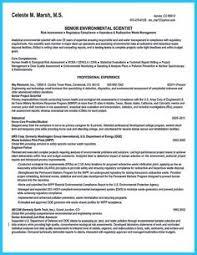 Biologist Resume Sample by Environmental Science Resume Sample Http Www Resumecareer Info