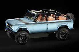 old bronco jeep 1966 ford bronco four door heads to sema u2013 tensema17