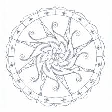 mandala coloring pages free printable jacb