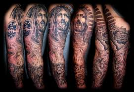description of sleeve tattoos religious sleeve tattoos