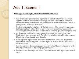 themes in othello act 1 scene 3 othello summary act one act 1 scene 1 setting late at night