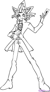 yugioh coloring pages coloring