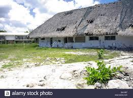 abandoned ruins of a beach resort cozumel island quintana roo
