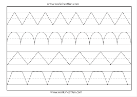 line tracing u2013 1 worksheet free printable worksheets u2013 worksheetfun