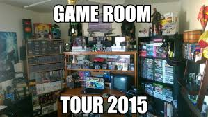 game room tour 2015 retro remixed style youtube