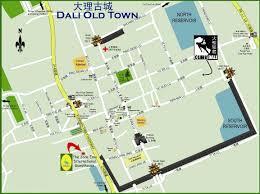Ancient China Map Dali Ancient City Yunnan Tour Guide