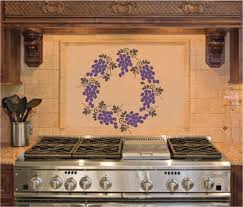 Wine Themed Kitchen Ideas by Kitchen Decor Inc Grapes And Wine Kitchen Decor