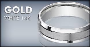 14k white gold mens wedding band men s 14k white gold wedding bands justmensrings