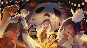 anime halloween gif artwork ragnarok halloween ragnarokonline