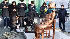 Comfort Women Japan Japan Recalls Diplomats From South Korea Over U0027comfort Woman