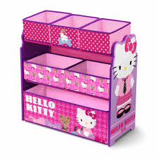 Hello Kitty Halloween Fabric by Delta Children Hello Kitty Multi Bin Toy Organizer Walmart Com