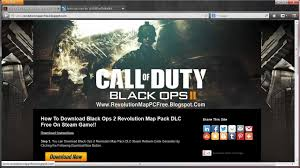 how do i download the revolution map pack for black ops 2