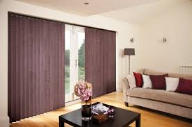vertical blinds norwich sunblinds chenille full length vertical blinds with patio doors
