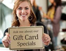 where can i sell gift cards in person how to sell more salon gift cards salon