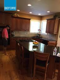 before u0026 after judith u0027s updated kitchen livemore