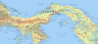 Panama World Map by Politic Map Of Panama