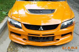 mitsubishi lancer evolution 7 8 9 front bumper jdm style