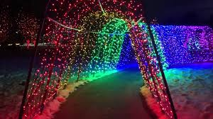hudson gardens christmas lights hudson gardens christmas lights youtube