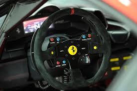 ferrari steering wheel ferrari 458 challenge interior steering wheel eurocar news