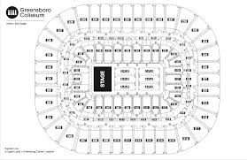 pepsi center floor plan seating chart see seating charts module greensboro coliseum complex