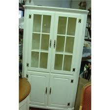 wood corner hutch cabinet master craft