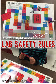 stem science lab safety and equipment scenarios posters vocab