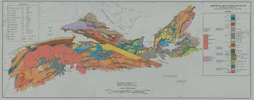 Nova Scotia Canada Map by Geomatics Association Of Nova Scotia Resources