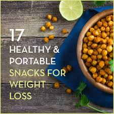 17 healthy and portable snacks for weight loss