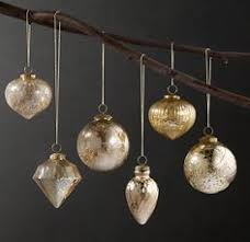 these ornaments from restoration hardware