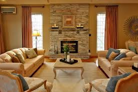 Arranging Traditional Bergere Mantle  Rug Idea For Family Room - Family room drapes