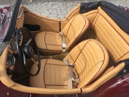 Triumph Tr3 Interior 1958 Triumph Tr3 Fresh Restoration Over Drive Leather Interior