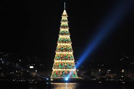 Christmas Tree Made Of Christmas Lights - must see christmas trees