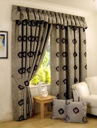 modern curtain ideas decorations modern rustic living room design with grey floral