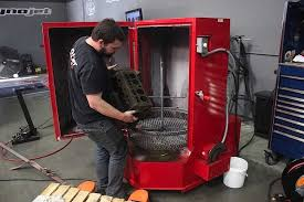 heated parts washer cabinet ranger spray wash cabinet rs500