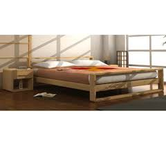 lit en bois massif mateo