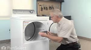 dryer repair replacing the lint filter whirlpool part 37001142
