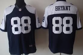 nike dallas cowboys 88 dez bryant blue thanksgiving limited