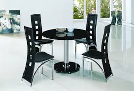 small black round table planet black round glass dining table modenza furniture